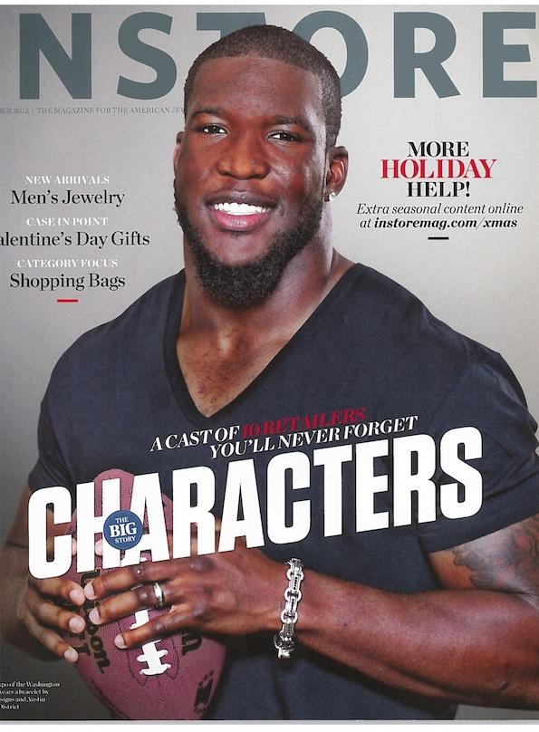 instore magazine cover